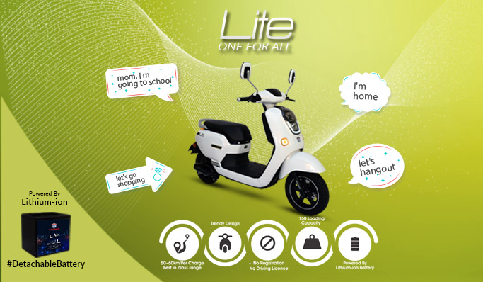 electric two wheelers in india